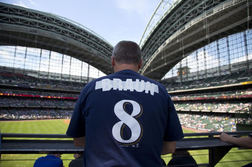 Ryan Braun's suspension made an already difficult season even worse for Brewers' fans. (Jeffrey Phelps/AP)