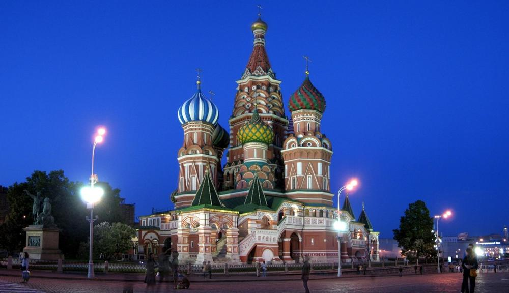 Saint Basil's Cathedral in Moscow. (Kwong Yee Cheng/Flickr)