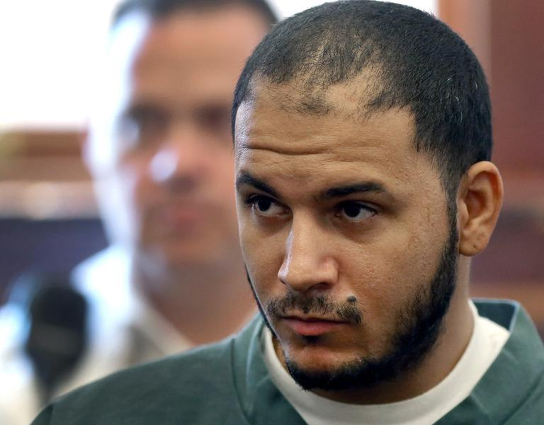 Edwin Alemany, in South Boston District Court Wednesday (David L Ryan/The Boston Globe/AP)