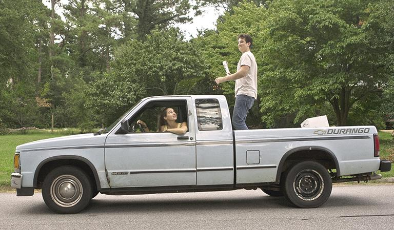 A scene from the romance film, The Spectacular Now. (specatularnowmovie.com)