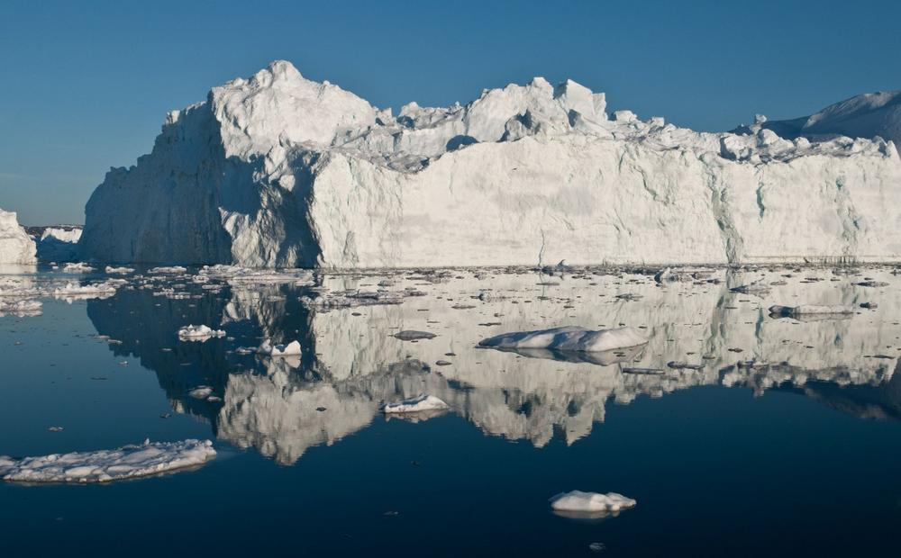 An iceberg in Greenland is pictured in May 2012. (Ian Joughin)