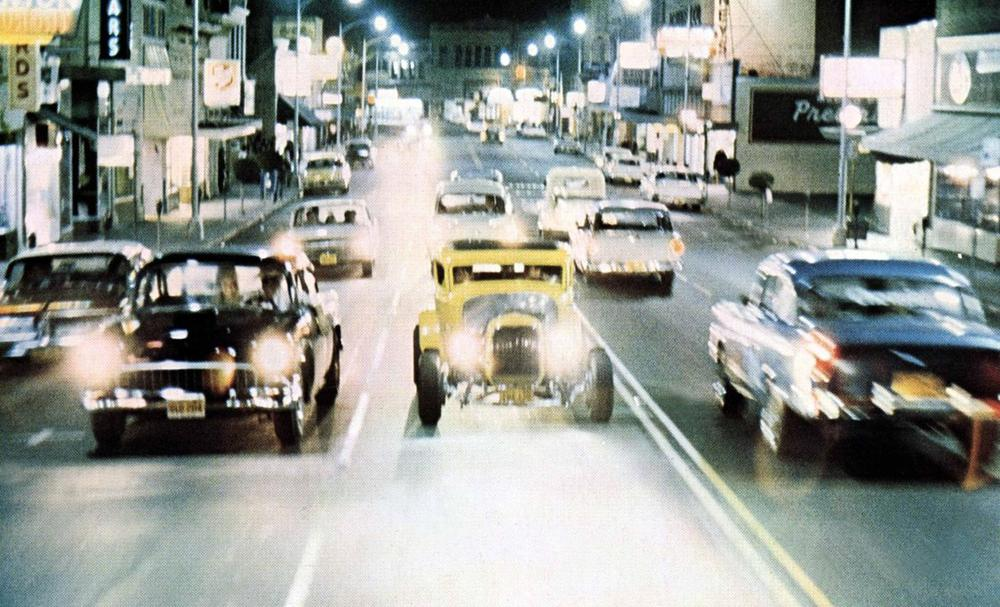 To teens today, cars aren't important in the same way they were in American Graffiti, the 1973 film directed by George Lucas. (Lucasfilm/Coppola Co/Universal)