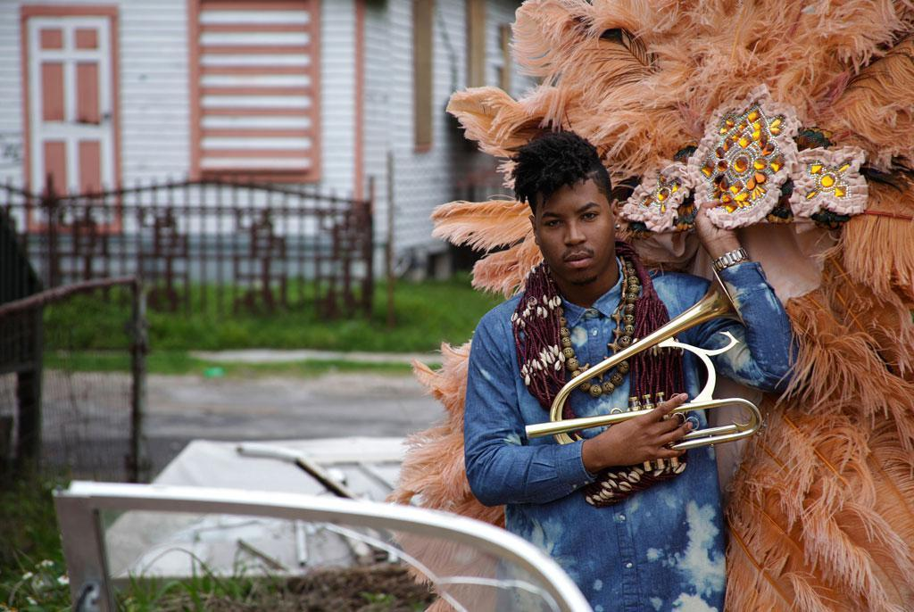 Christian Scott is one of the jazz musicians coming out of New Orleans who combines rock and hip hop influences. (Christian Scott)