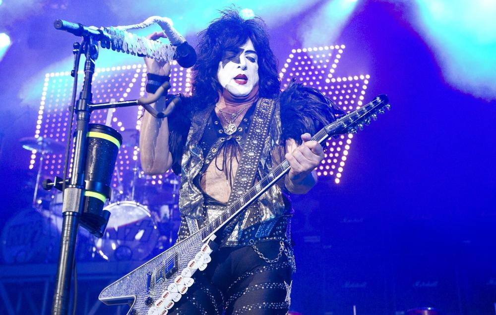 Paul Stanley (above) and Gene Simmons of the rock band KISS are bringing an Arena Football League team to Los Angeles for the 2014 season. (Joel Ryan/AP)