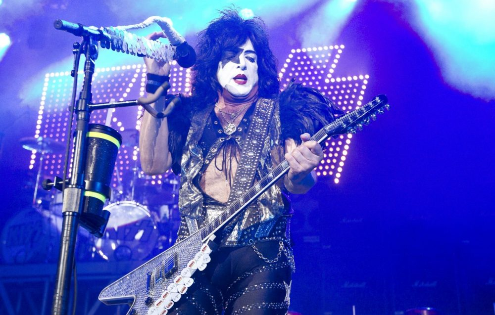 Paul Stanley (above) and Gene Simmons of the rock band Kiss are bringing an Arena Football League team to Los Angeles. (Joel Ryan/AP)