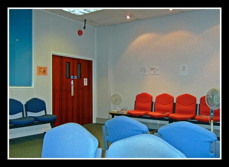 A doctor's office waiting room. (veggiesosage/flickr)