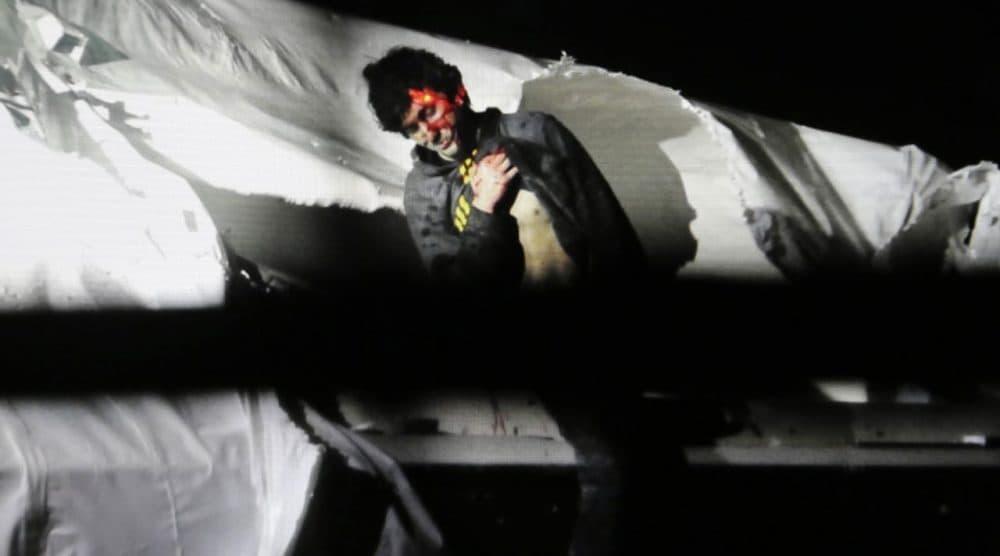 Boston Marathon bombing suspect Dzhokhar Tsarnaev, prior to his capture (Sean Murphy/Massachusetts State Police/AP)