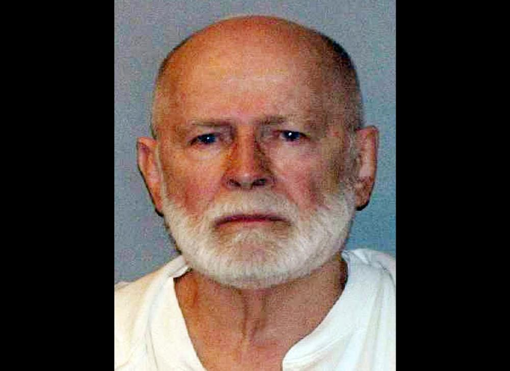 "This June 23, 2011, booking photo provided by the U.S. Marshals Service shows James ""Whitey"" Bulger, who fled Boston in 1994 and wasn't captured until 2011 in Santa Monica, Calif., after 16 years on the run. Prosecutors and defense attorneys are expected to present lengthy closing arguments to jurors as they lay out their cases in the racketeering trial of reputed gangster James ""Whitey"" Bulger on Monday, Aug. 5, 2013. (AP Photo/ U.S. Marshals Service, File)"