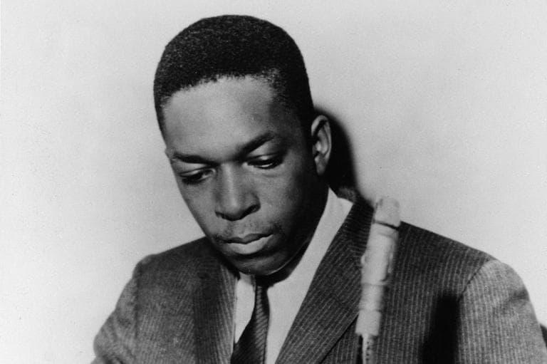 John Coltrane, jazz saxophonist shown in this undated photo. (AP)