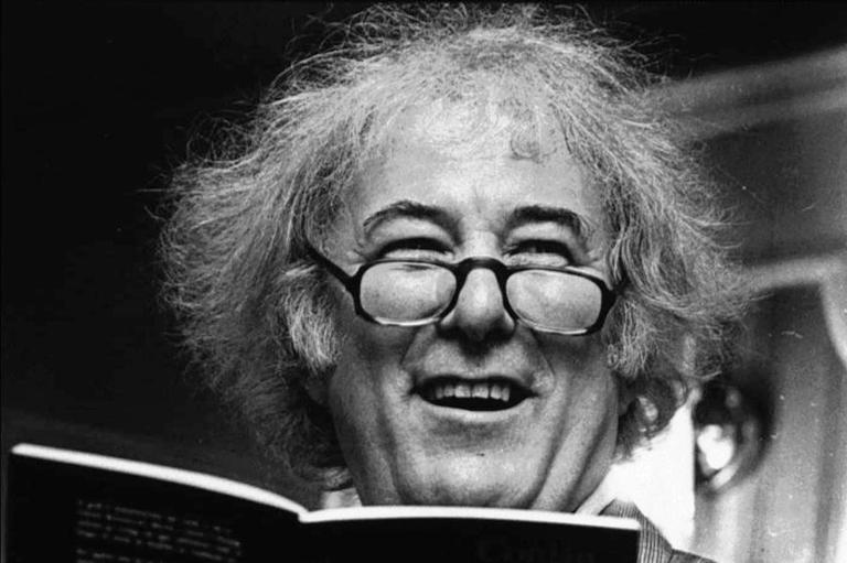 File photo of the Irish poet Seamus Heaney. Heaney, whose lyrical works portray the pain of sectarian strife and the joy of growing up in a Roman Catholic farming family. (AP)