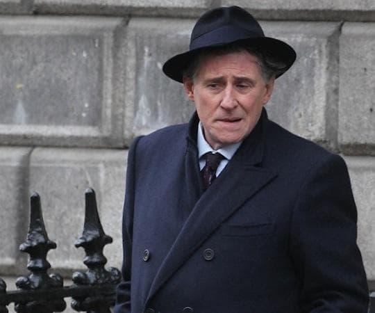 Gabriel Byrne as Quirke. (BBC)