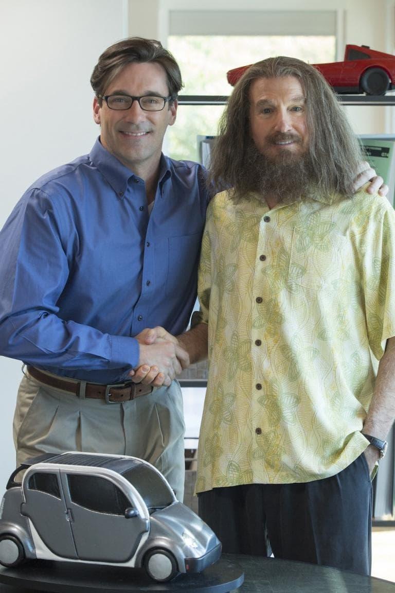 """Jon Hamm and Larry David in """"Clear History."""" (John P. Johnson/HBO)"""