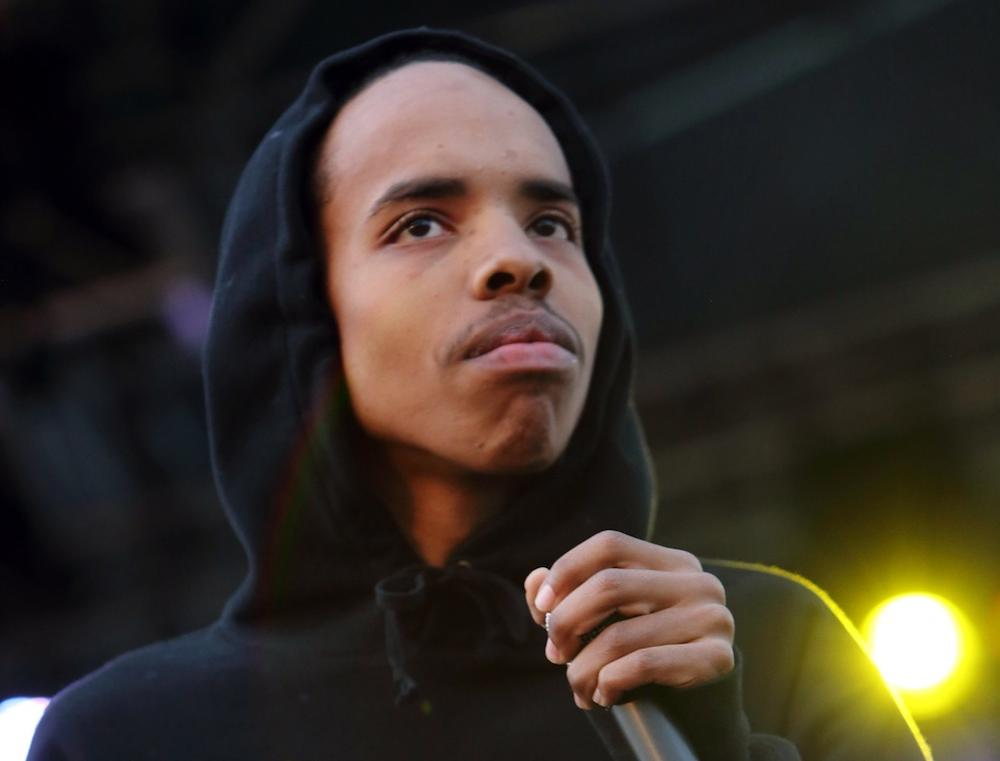 Earl Sweatshirt performing at The Sasquatch! Music Festival in George, Wash.(John Davisson/Invision/AP)