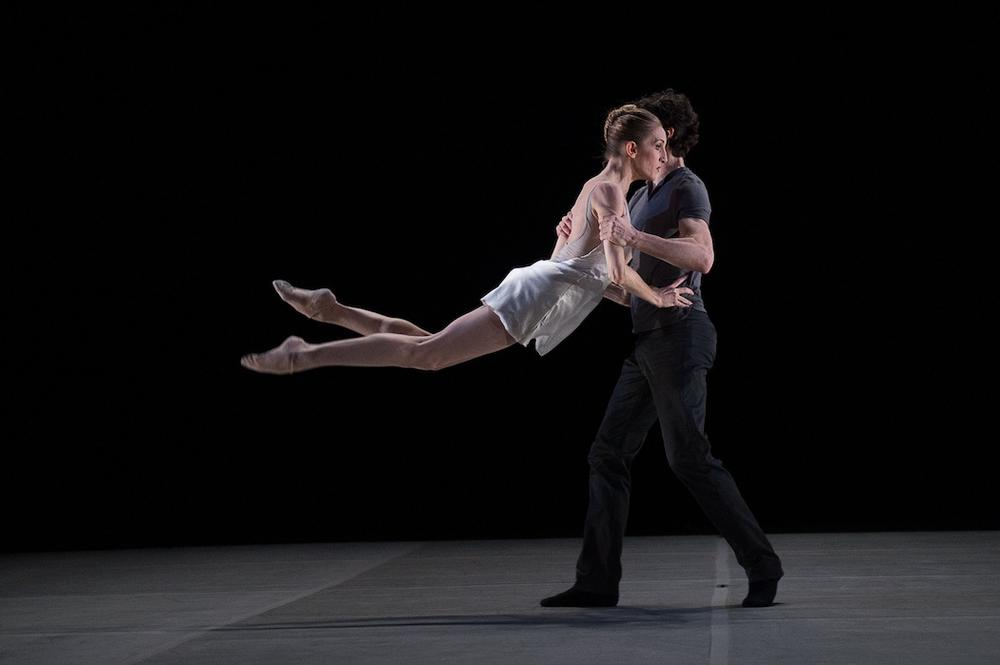 "Alejandro Cerrudo and Wendy Whelan in ""Restless Creature."" (Christopher Duggan/Jacob's Pillow)"
