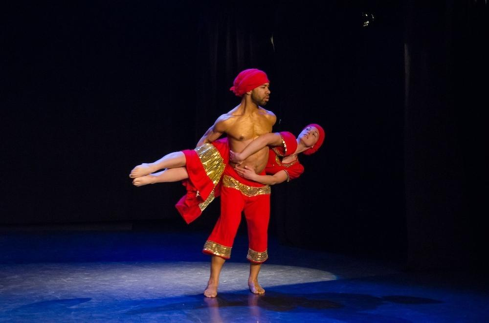 "Corey Baker and Meghan McGrath performing Jean Appolon Expression's ""Petro."" (Liza Voll )"