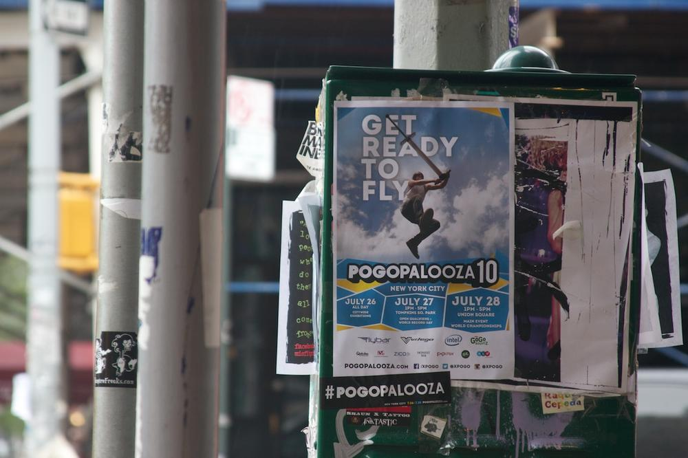 The Pogopalooza 10 poster, featuring Tone Staubs. (Whitney Jones/Only A Game)