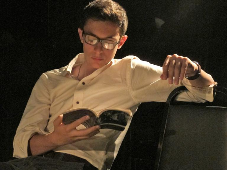Co-artistic director Jack Serio (Andrea Shea/WBUR)