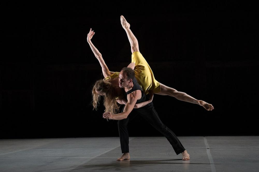 "Brian Brooks and Wendy Whelan in ""Restless Creature."" (Christopher Duggan/Jacob's Pillow)"