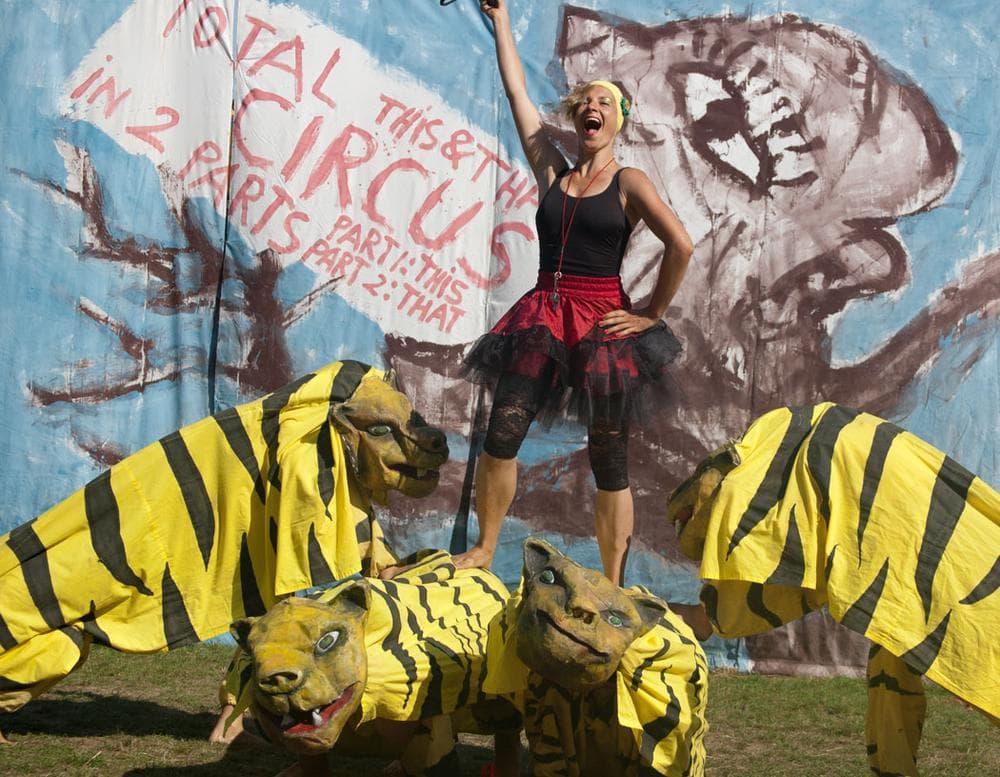 The circus' tiger act. (Greg Cook)