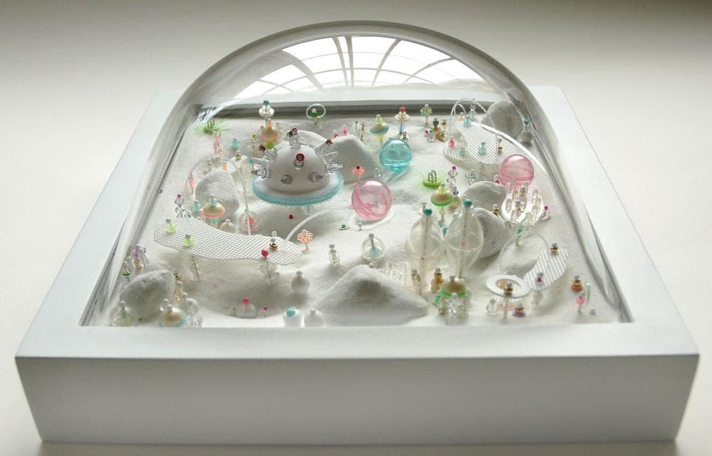 """Sally Curcio """"Orbit City,"""" 2008. (Courtesy of the artist)"""