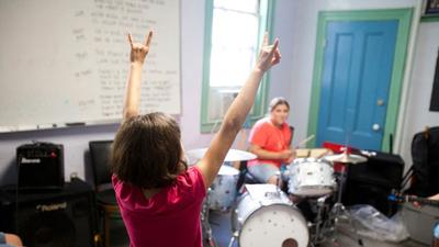 The Girls Rock program. (Kelly Davidson)