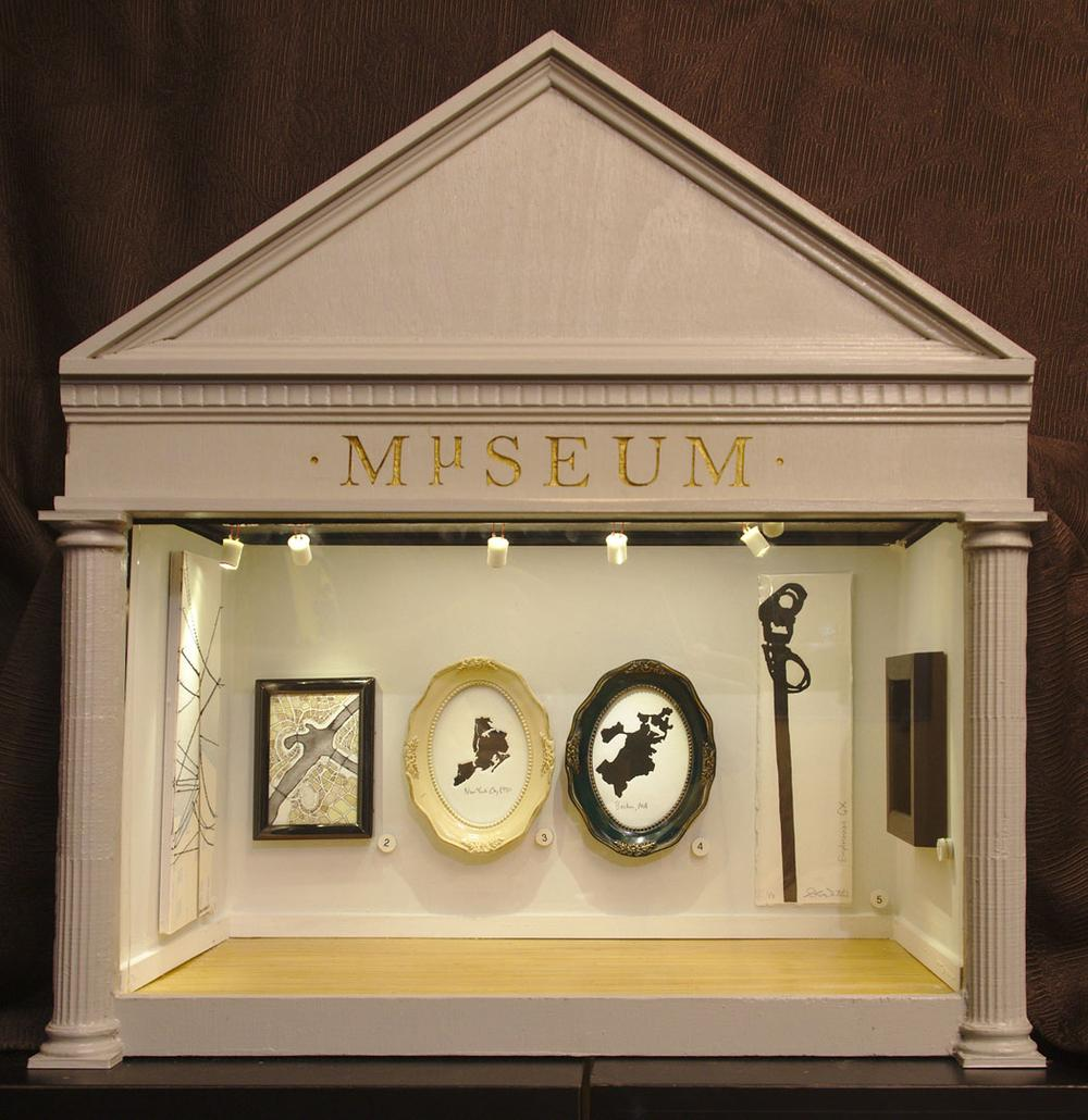 """The neo-classical façade of the Mµseum—or """"Micro Museum""""—opening in Somerville. (Courtesy photo)"""