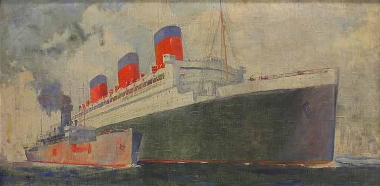The Queen Mary. Estimated restoration cost $7,000 to $9,000. (Frederick Leonard King)
