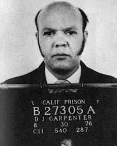 David Carpenter, also known as the Trailside Killer, in a 1976 prison photograph. (Wikimedia Commons)