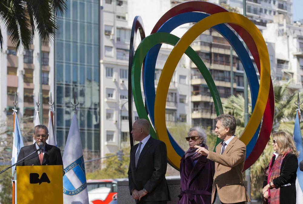 President Jacques Rogge speaks at the IOC's Sept. 4-10 meeting in Buenos Aires, where the group will select the host site for the 2020 games. (Natacha Pisarenko/AP)