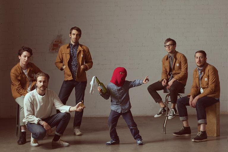 The band Portugal. The Man is out with a new album and touring the Europe and the United States. (Portugal. The Man)