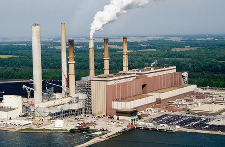 Gibson Station, located in Gibson County, Ind., is Duke Energy's largest power plant. (Duke Energy/Flickr)