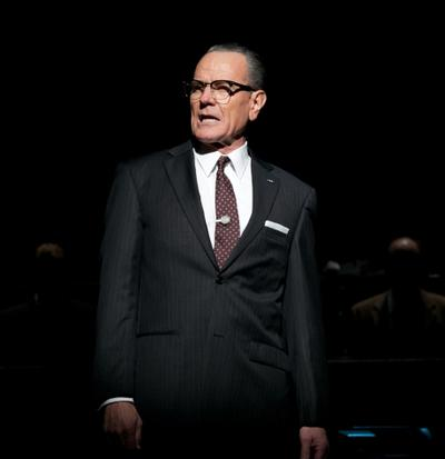 "Bryan Cranston is pictured in ""All the Way."" (Evgenia Eliseeva/American Repertory Theater)"