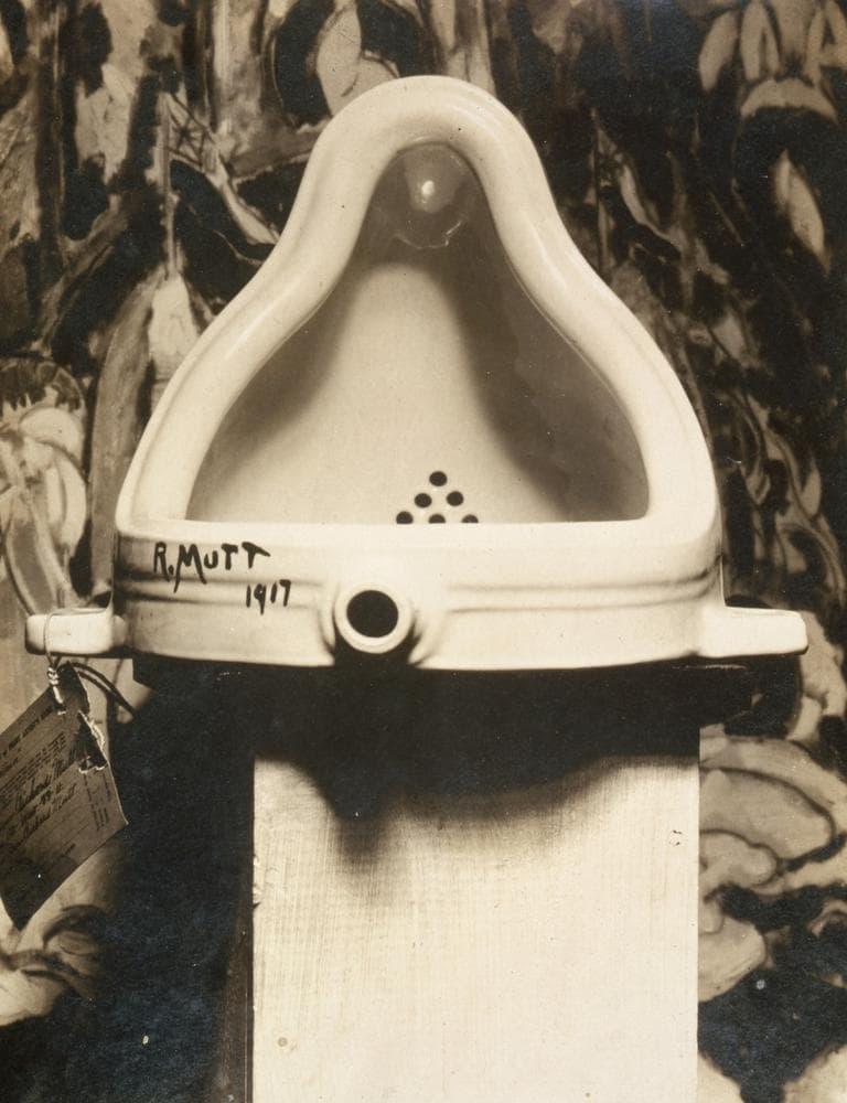 """Marcel Duchamp's """"Fountain."""" (Alfred Stieglitz/AP)"""