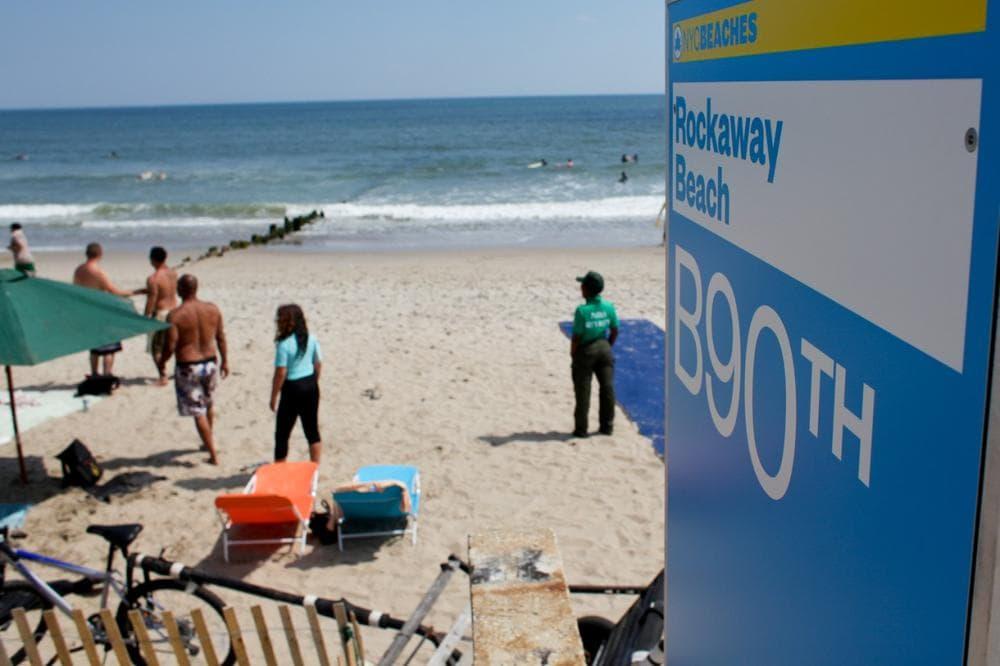 Rockaway Beach, a popular surf spots in Queens, New York. (Stephen Nessen/Only A Game)