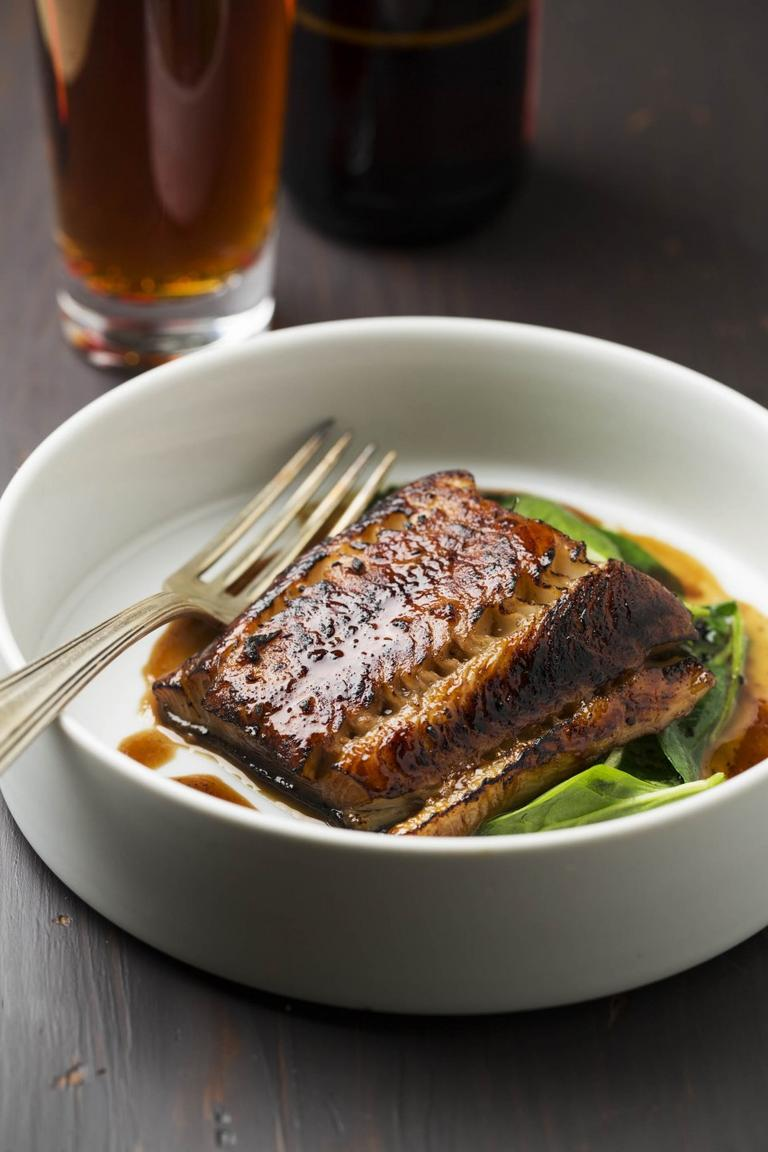 Black Cod Brulee (excerpted from The American Craft Beer Cookbook (c) John Holl. Photography (c) Lara Ferroni. Used with permission of Storey Publishing)