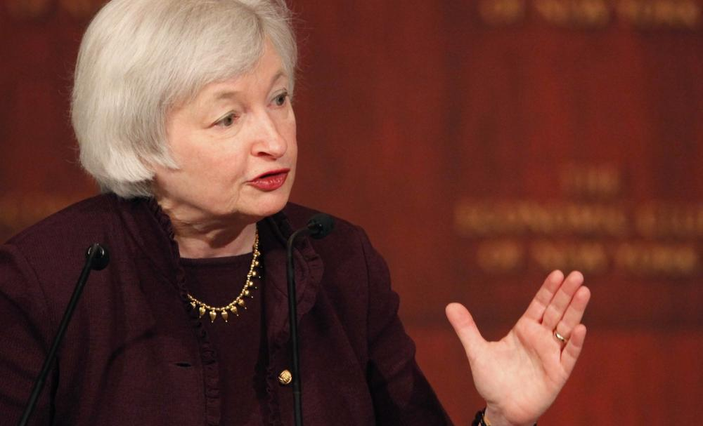 Janet Yellen, vice chairwoman of the Federal Reserve Bank, is pictured in April 2011. (Mark Lennihan/AP)