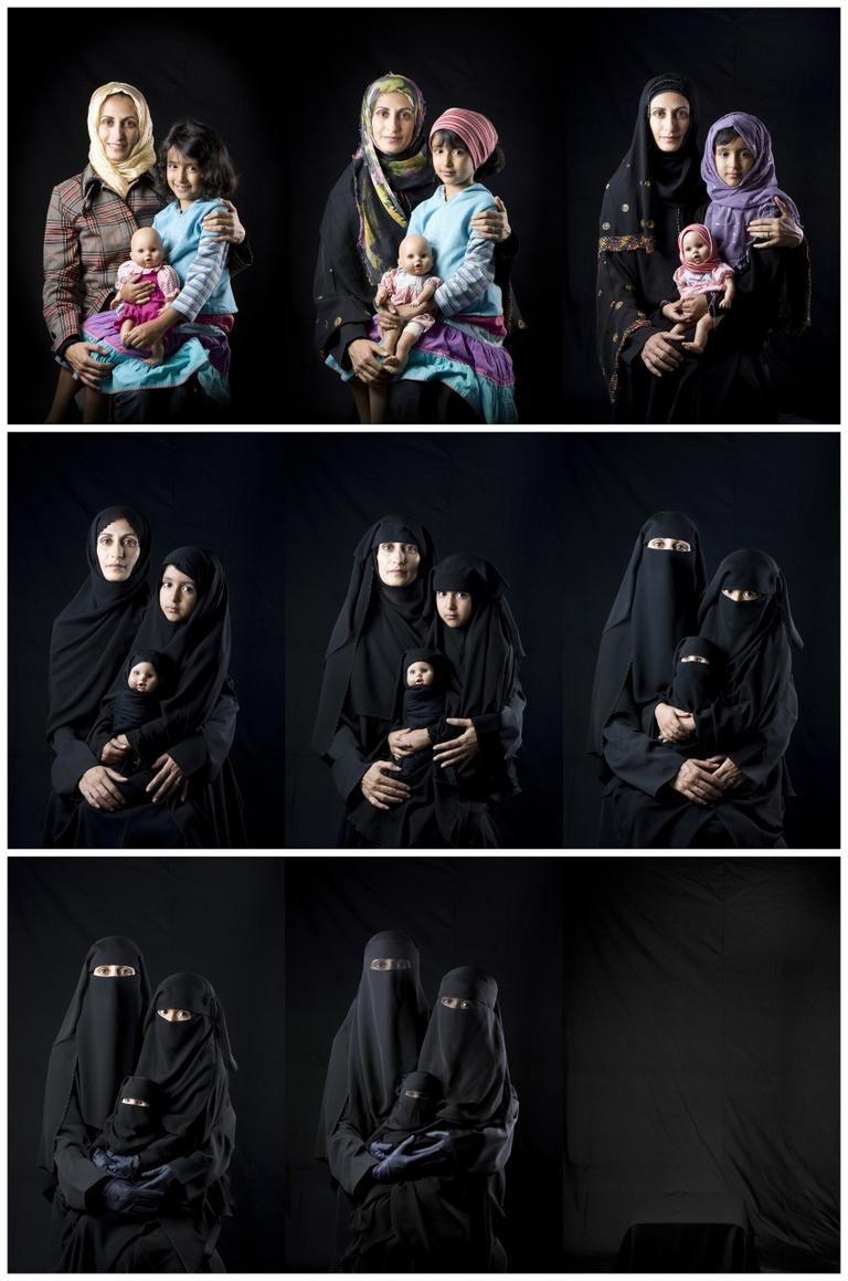 Photo series by Bushra Almutawakel (MFA)