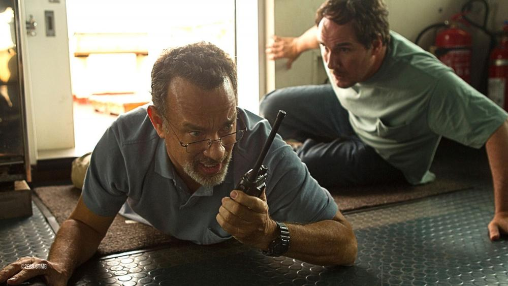 "Tom Hanks as the titular character in the film, ""Captain Phillips."" (Columbia Pictures)"