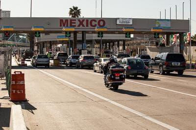 The border crossing in San Ysidro, in Tijuana, Mexico. (U.S. Customs And Border Patrol/Flickr)