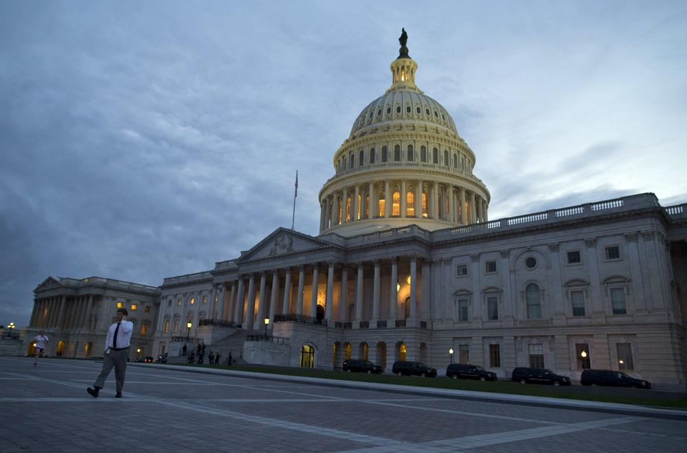 A view of the U.S. Capitol building on Tuesday, Oct. 15, 2013 in Washington. (AP/ Evan Vucci)