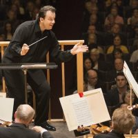 Andris Nelsons leads the Boston Sympony Orchestra last October. (Marco Borggreve)