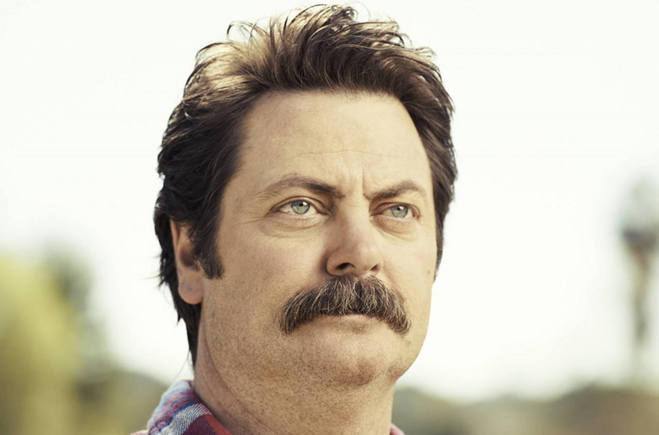 Parks And Recreations Nick Offerman Manly Man On Point