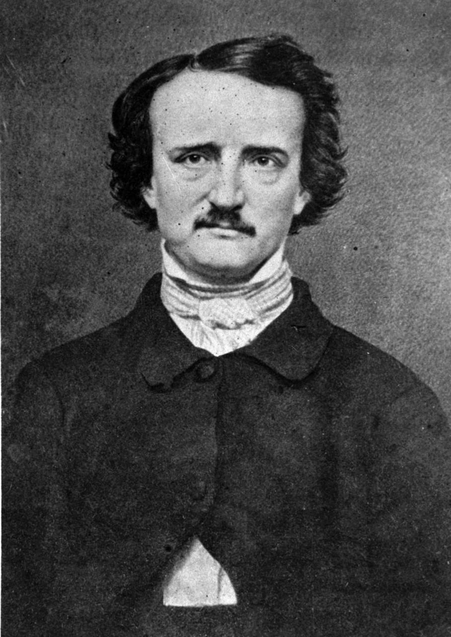 An undated photo of Edgar Allan Poe (AP)