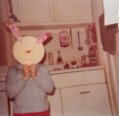 The author as a not-quite-svelte child, in an undated photo from the 1970s.