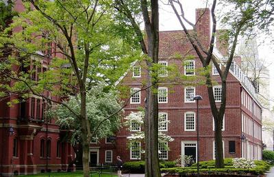 Harvard University's Massachusetts Hall. (Wikimedia Commons)
