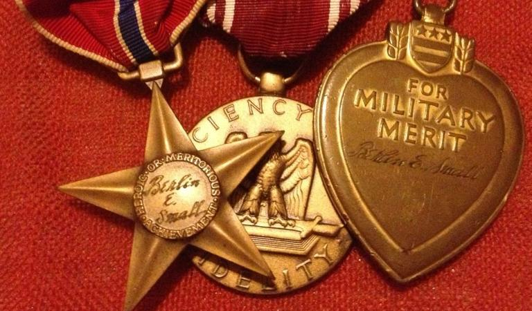 Purple Hearts United works to reunite found Purple Hearts and other medals to those who have had them lost or stolen. (Purple Hearts United)
