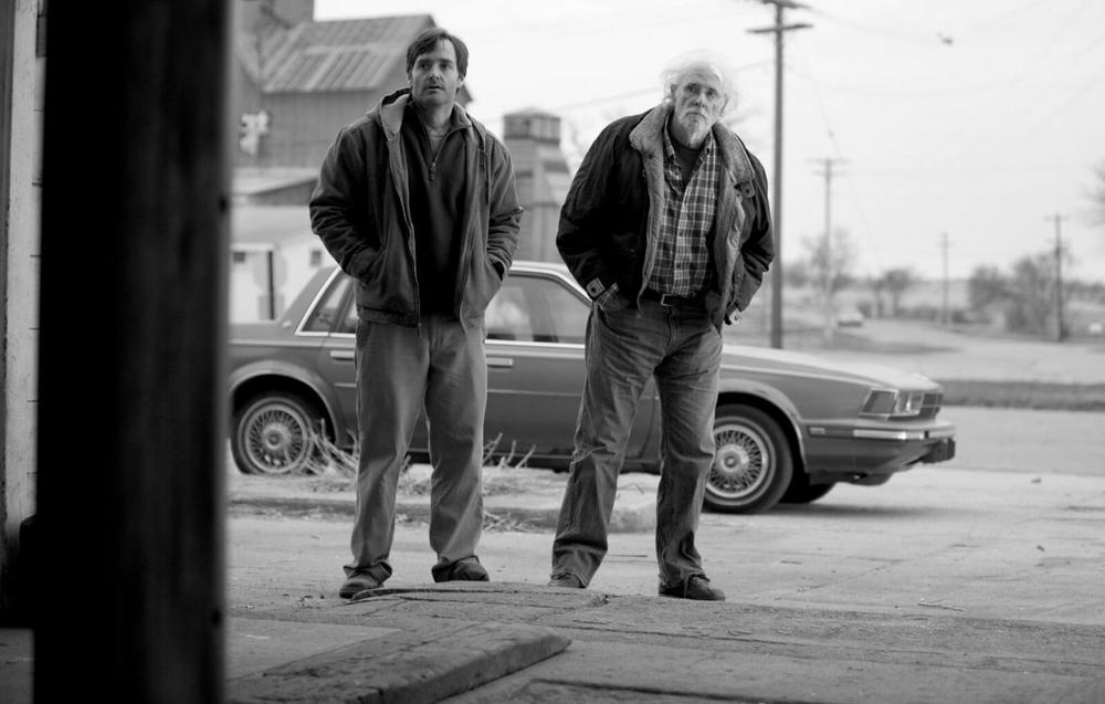 "Will Forte, left, in Alexander Payne's new film, ""Nebraska."" (FilmNation)"