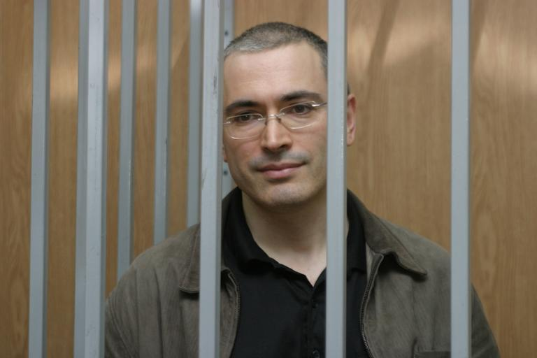 Mikhail Khodorkovsky, a Russian former oil billionaire, was imprisoned on charges of tax evasion and fraud. (khodorkovsky.com)