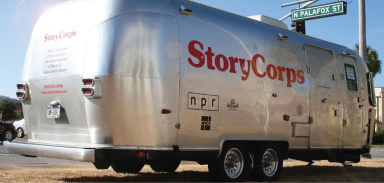 StoryCorps traveling recording studio. (storycorps.org)