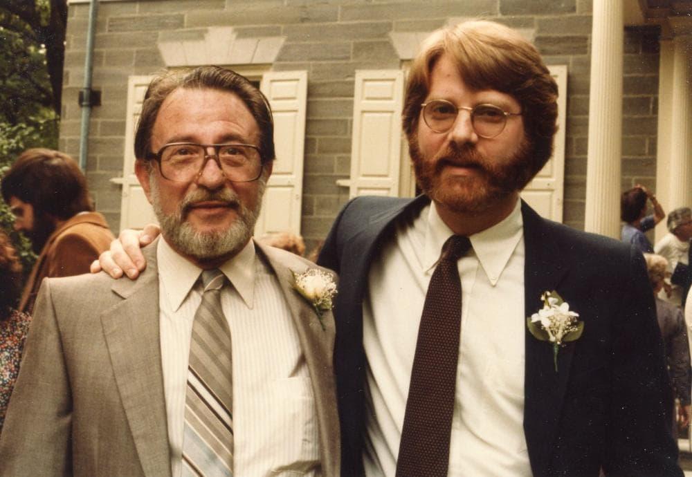 Victor E. Beresin (left) and Gene Beresin at Gene's wedding. (Courtesy)